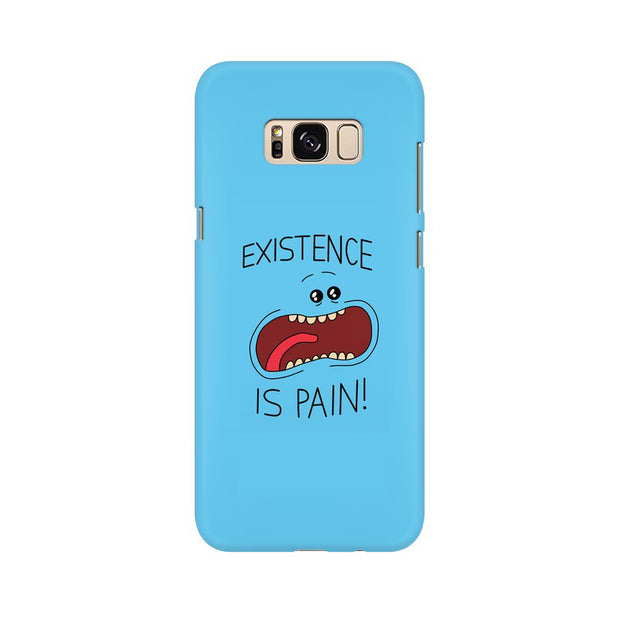 Samsung S8 Plus Existence Is Pain Mr Meeseeks Rick & Morty Phone Cover & Case
