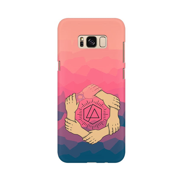 Samsung S8 Plus Linkin Park Logo Chester Tribute Phone Cover & Case