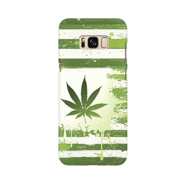 Samsung S8 Plus Weed Flag  Phone Cover & Case