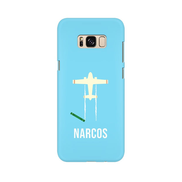 Samsung S8 Plus Narcos TV Series  Minimal Fan Art Phone Cover & Case