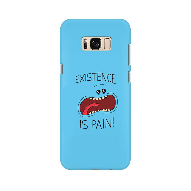 Samsung S8 Existence Is Pain Mr Meeseeks Rick & Morty Phone Cover & Case