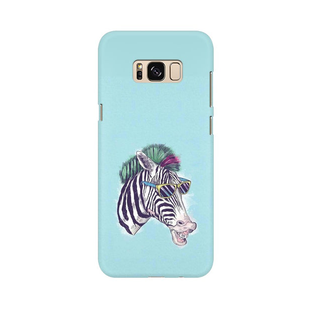 Samsung S8 The Zebra Style Cool Phone Cover & Case