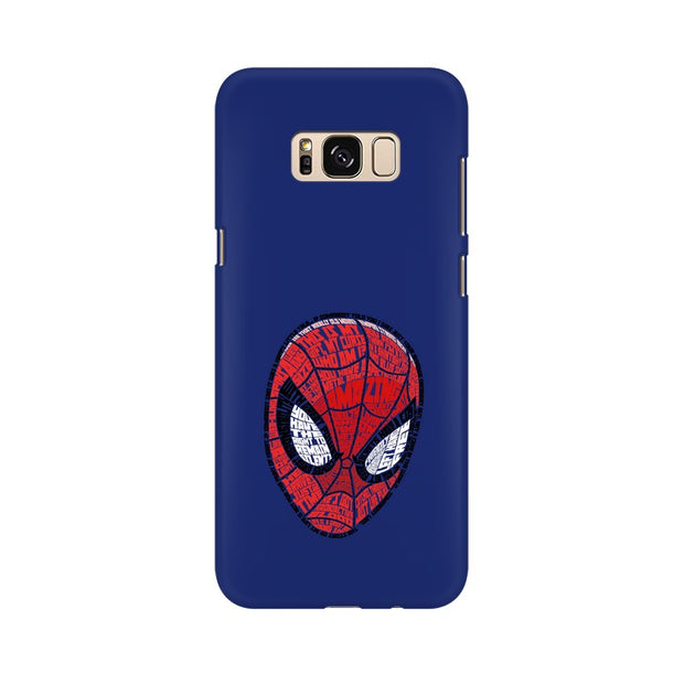 Samsung S8 Spider Man Graphic Fan Art Phone Cover & Case