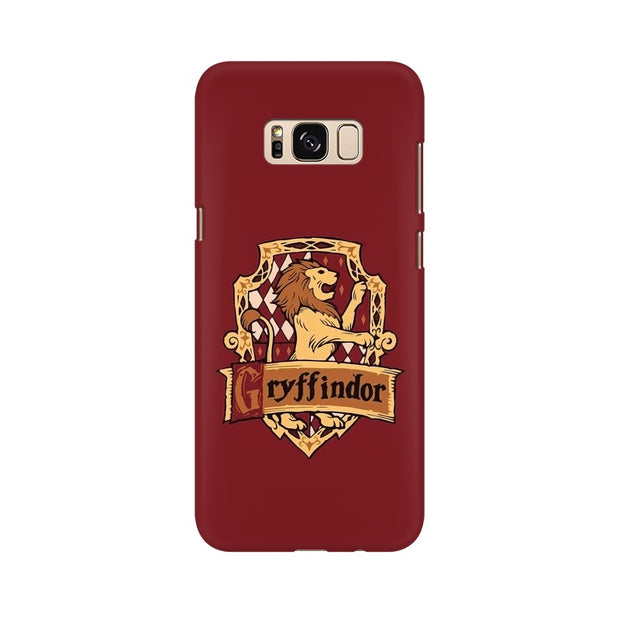 Samsung S8 Gryffindor House Crest Harry Potter Phone Cover & Case