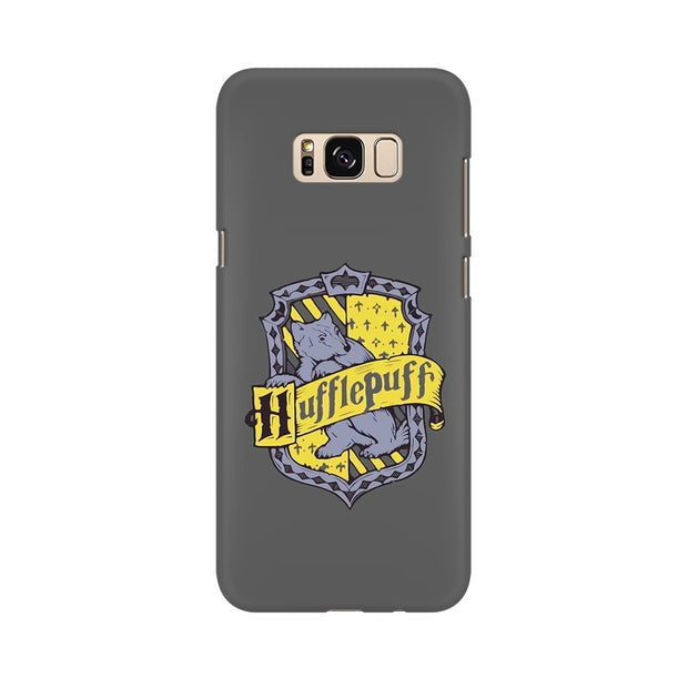 Samsung S8 Hufflepuff House Crest Harry Potter Phone Cover & Case