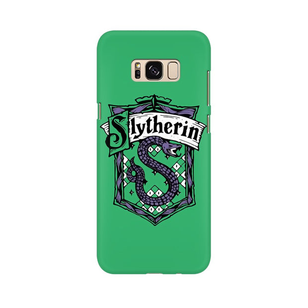 Samsung S8 Slytherin House Crest Harry Potter Phone Cover & Case