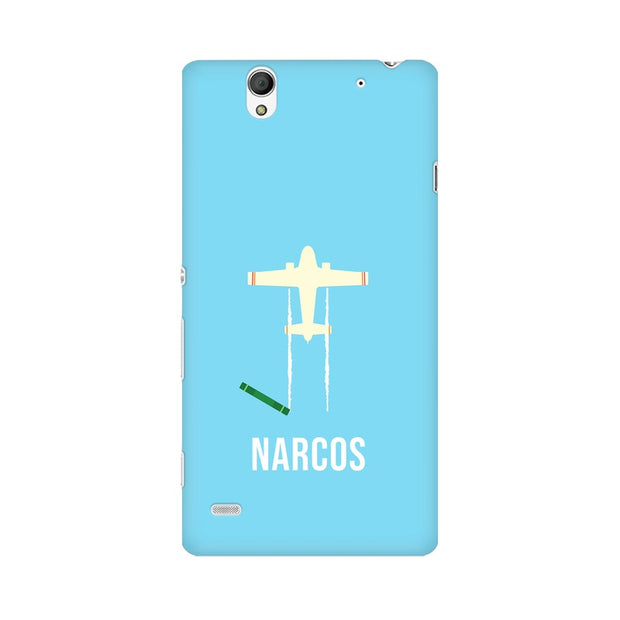 Sony Xperia C4 Narcos TV Series  Minimal Fan Art Phone Cover & Case