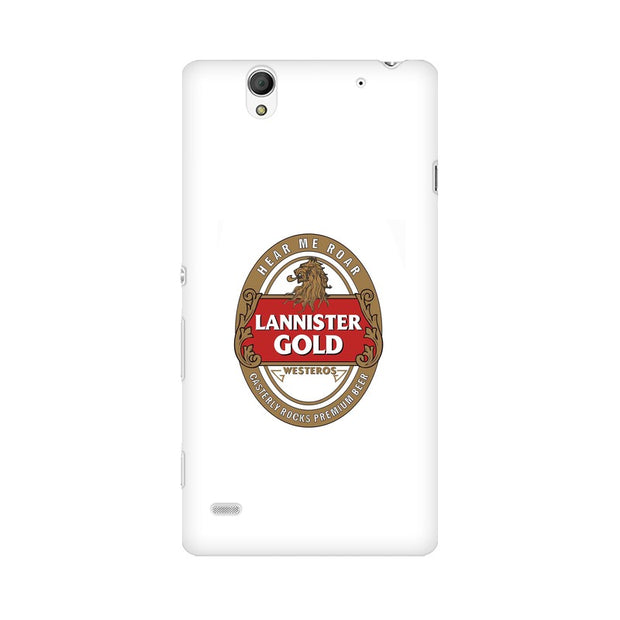 Sony Xperia C4 Lannister Gold Game Of Thrones Cool Phone Cover & Case