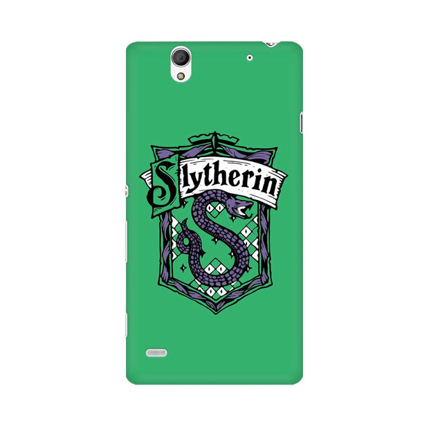 Sony Xperia C4 Slytherin House Crest Harry Potter Phone Cover & Case