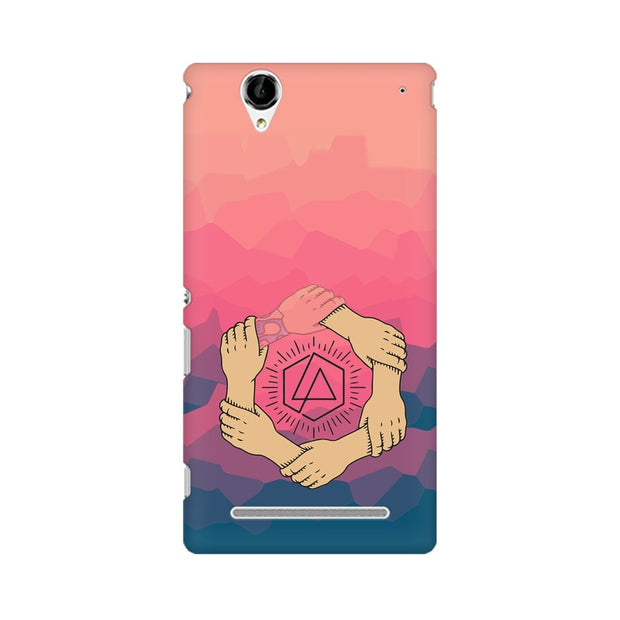 Sony Xperia T2 Ultra Linkin Park Logo Chester Tribute Phone Cover & Case