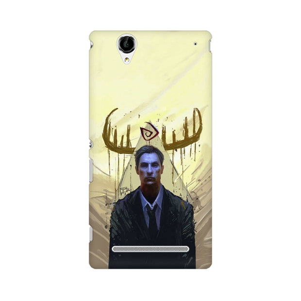 Sony Xperia T2 Ultra True Detective Rustin Fan Art Phone Cover & Case