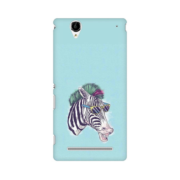 Sony Xperia T2 Ultra The Zebra Style Cool Phone Cover & Case