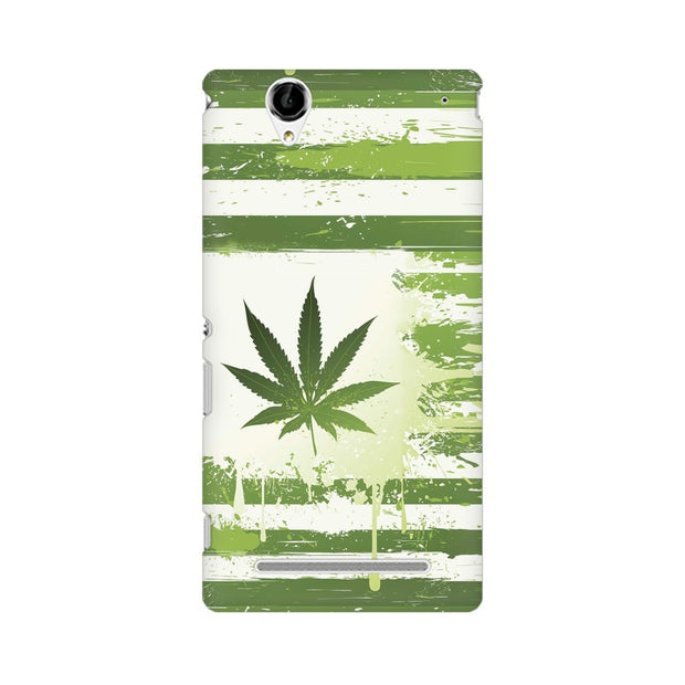 Sony Xperia T2 Ultra Weed Flag  Phone Cover & Case