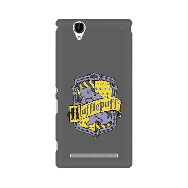 Sony Xperia T2 Ultra Hufflepuff House Crest Harry Potter Phone Cover & Case