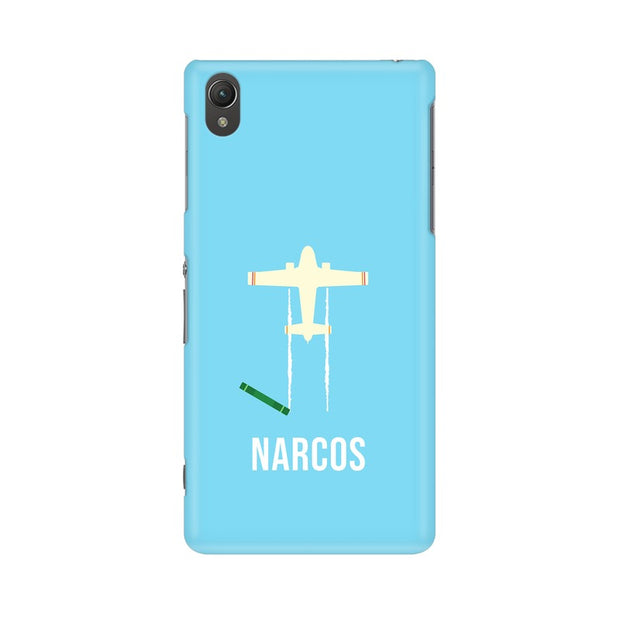 Sony Xperia Z2 L50W Narcos TV Series  Minimal Fan Art Phone Cover & Case