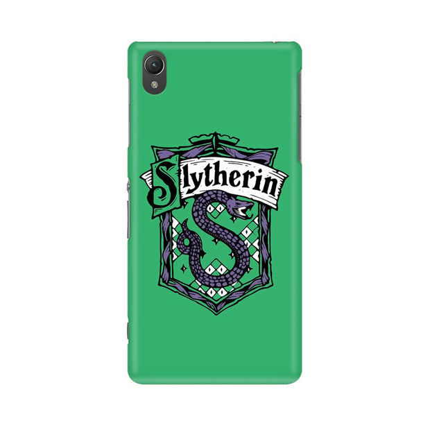 Sony Xperia Z2 L50W Slytherin House Crest Harry Potter Phone Cover & Case