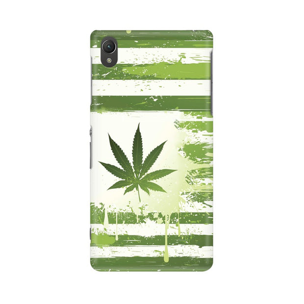 Sony Xperia Z5 Weed Flag  Phone Cover & Case