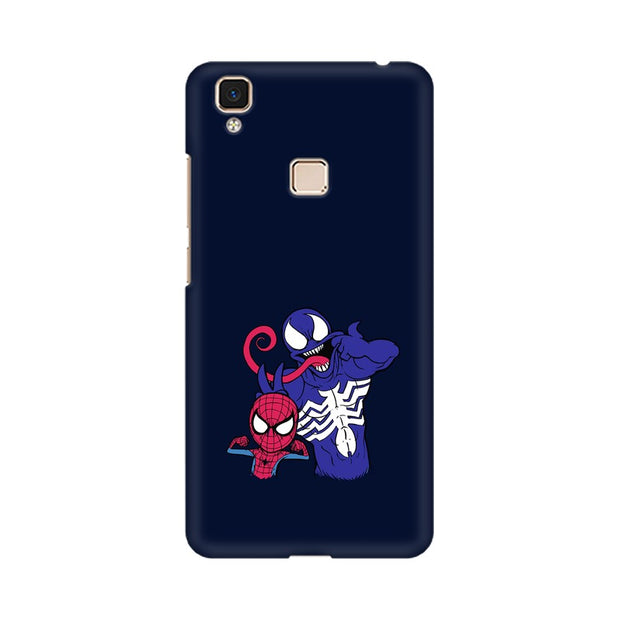 Vivo V3 Max Spider Man & Venom Funny Phone Cover & Case