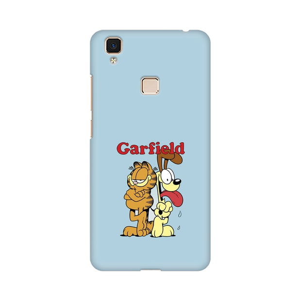 Vivo V3 Max Garfield & Odie Phone Cover & Case