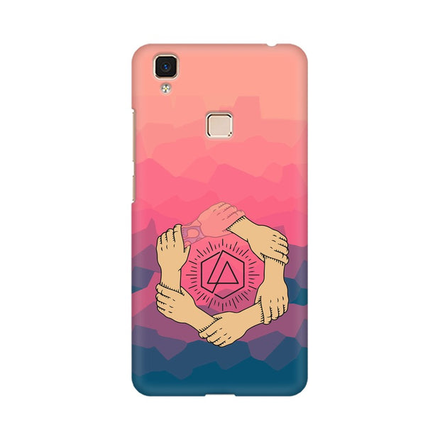 Vivo V3 Max Linkin Park Logo Chester Tribute Phone Cover & Case