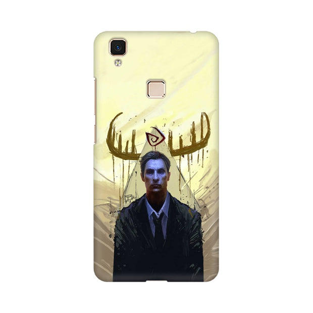 Vivo V3 Max True Detective Rustin Fan Art Phone Cover & Case