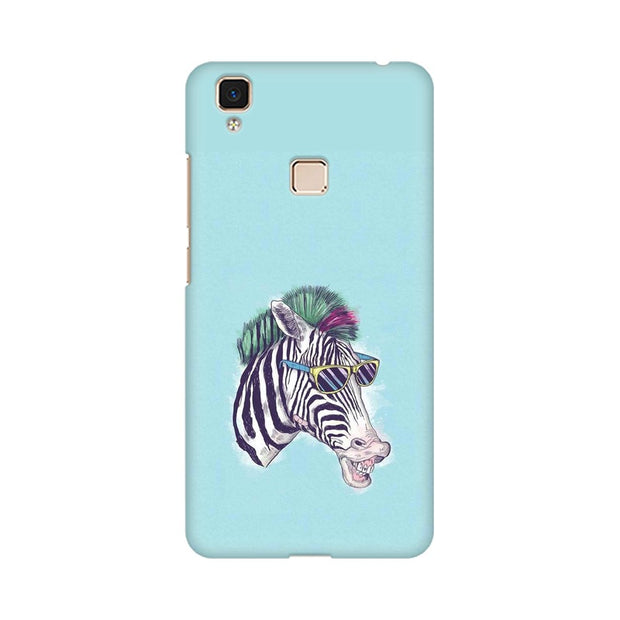 Vivo V3 Max The Zebra Style Cool Phone Cover & Case