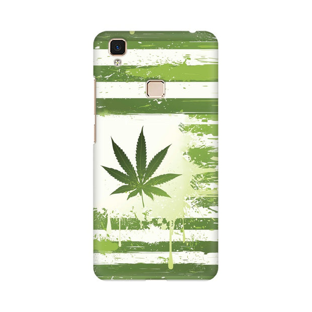 Vivo V3 Max Weed Flag  Phone Cover & Case