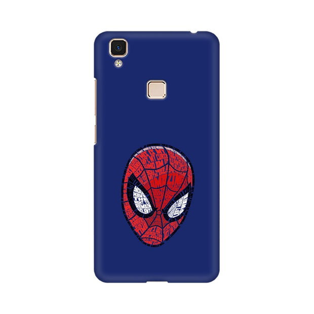 Vivo V3 Max Spider Man Graphic Fan Art Phone Cover & Case
