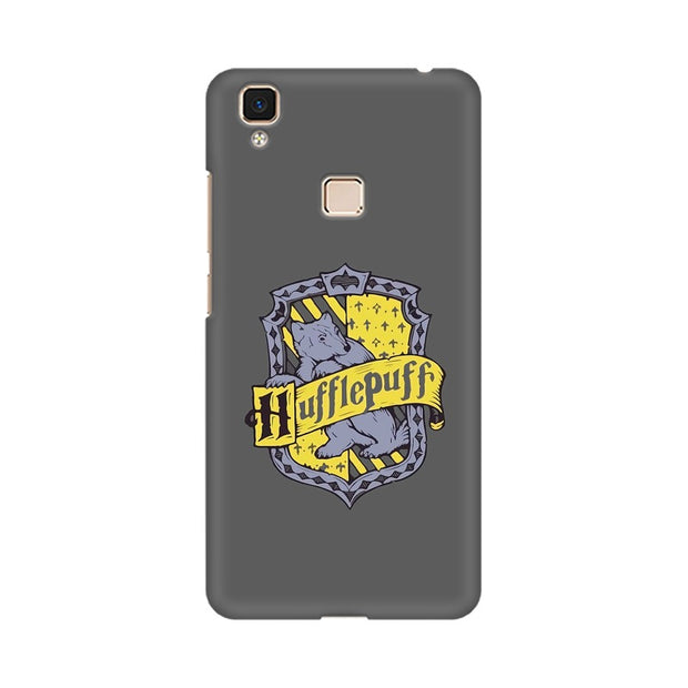 Vivo V3 Max Hufflepuff House Crest Harry Potter Phone Cover & Case