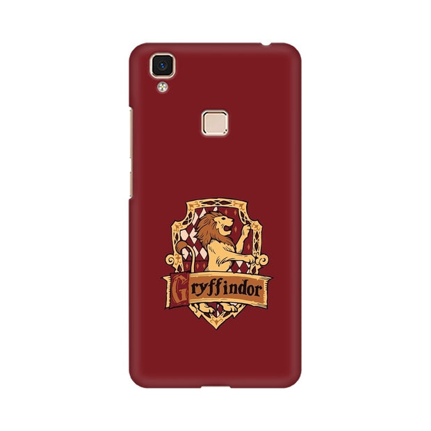 Vivo V3 Max Gryffindor House Crest Harry Potter Phone Cover & Case