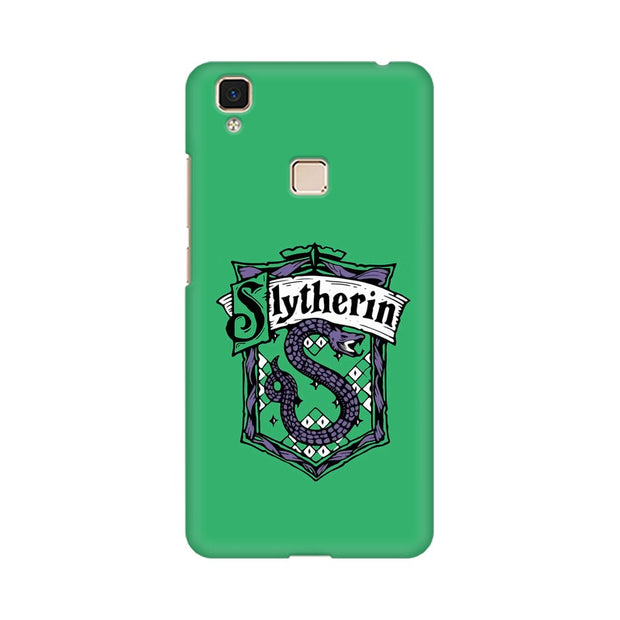 Vivo V3 Max Slytherin House Crest Harry Potter Phone Cover & Case