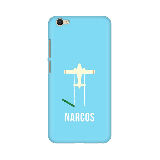 Vivo V5 Plus Narcos TV Series  Minimal Fan Art Phone Cover & Case