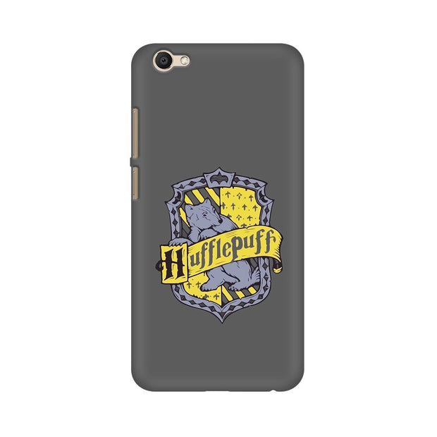 Vivo V5 Hufflepuff House Crest Harry Potter Phone Cover & Case