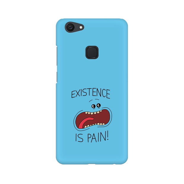 Vivo V7 Plus Existence Is Pain Mr Meeseeks Rick & Morty Phone Cover & Case