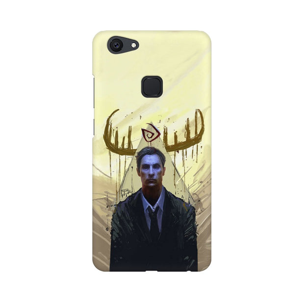 Vivo V7 Plus True Detective Rustin Fan Art Phone Cover & Case
