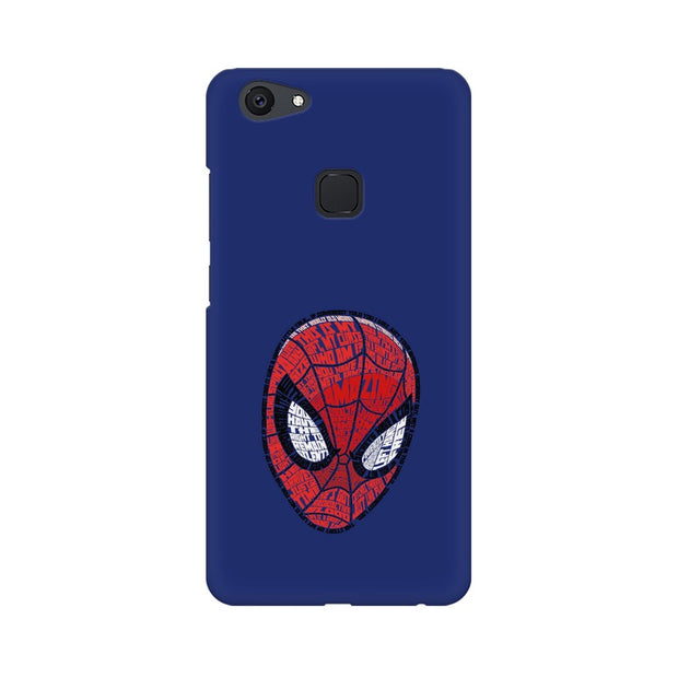 Vivo V7 Plus Spider Man Graphic Fan Art Phone Cover & Case