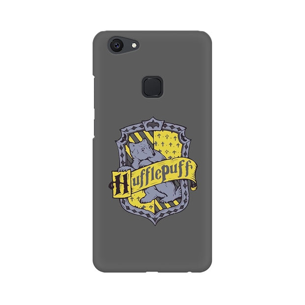 Vivo V7 Plus Hufflepuff House Crest Harry Potter Phone Cover & Case