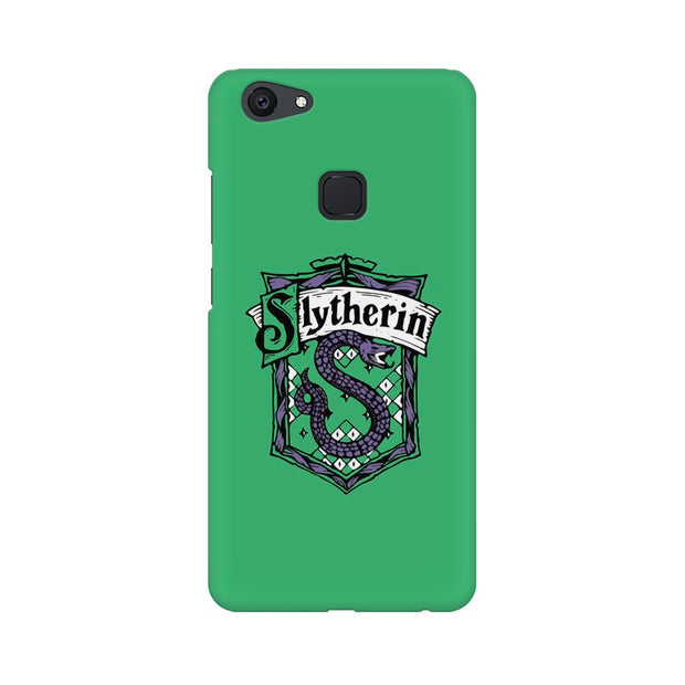 Vivo V7 Plus Slytherin House Crest Harry Potter Phone Cover & Case
