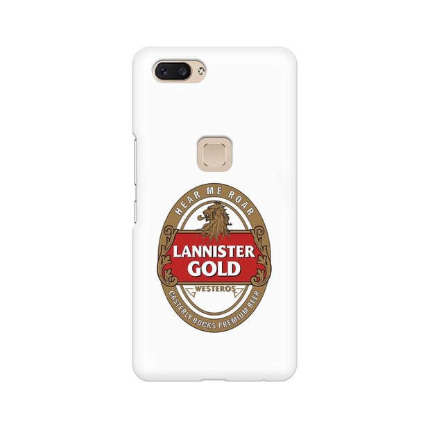 Vivo X20 Lannister Gold Game Of Thrones Cool Phone Cover & Case