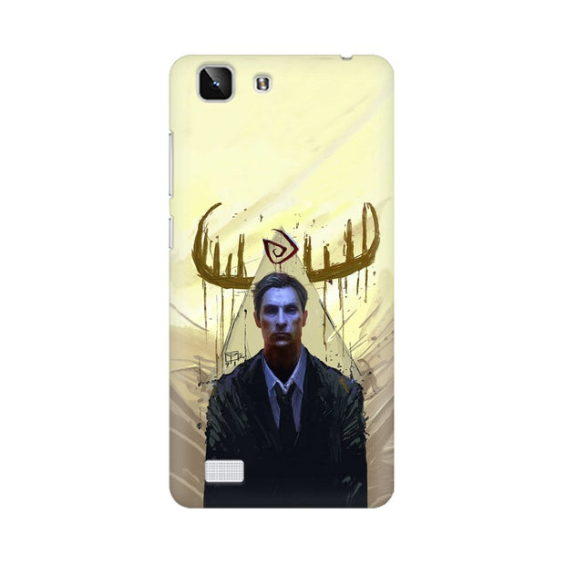 Vivo X5 True Detective Rustin Fan Art Phone Cover & Case