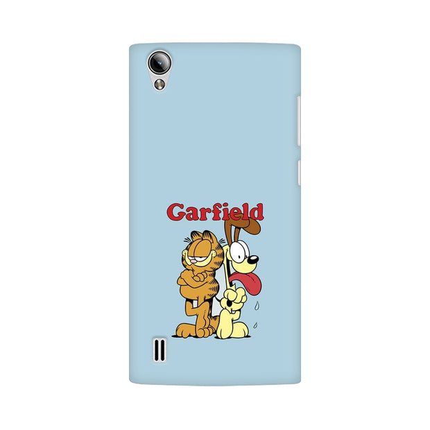 Vivo Y15 Garfield & Odie Phone Cover & Case