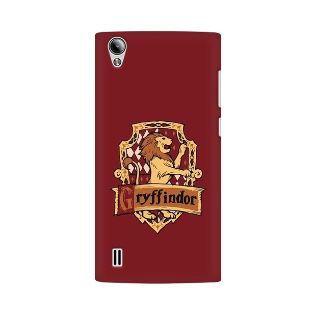 Vivo Y15 Gryffindor House Crest Harry Potter Phone Cover & Case