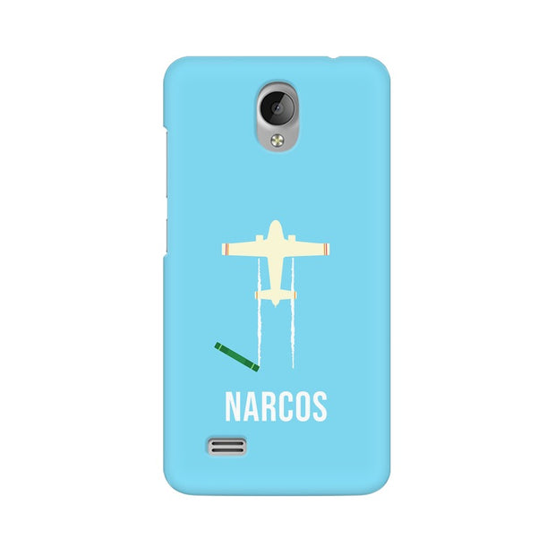 Vivo Y21L Narcos TV Series  Minimal Fan Art Phone Cover & Case