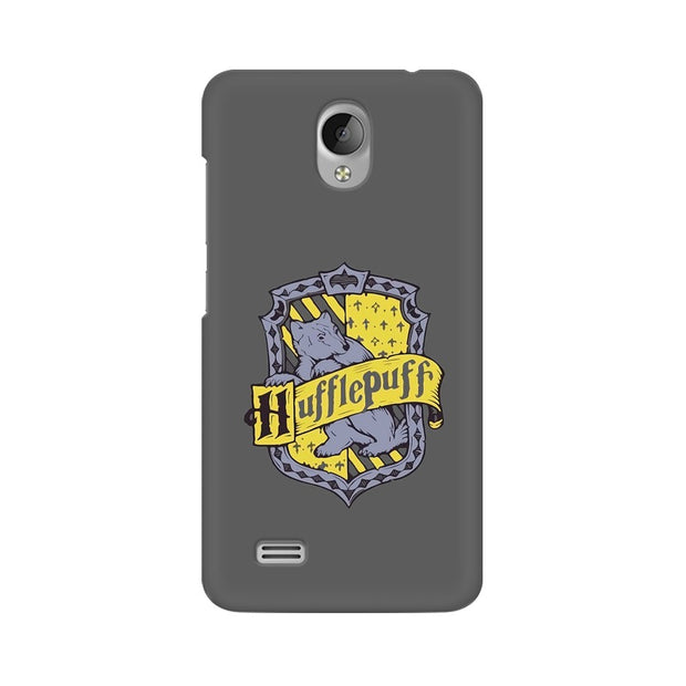Vivo Y21L Hufflepuff House Crest Harry Potter Phone Cover & Case