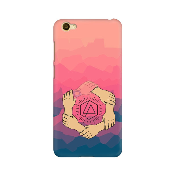 Vivo Y55L Linkin Park Logo Chester Tribute Phone Cover & Case