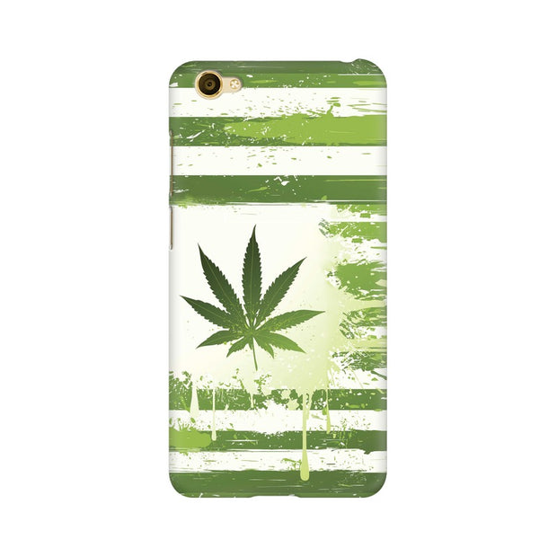 Vivo Y55L Weed Flag  Phone Cover & Case