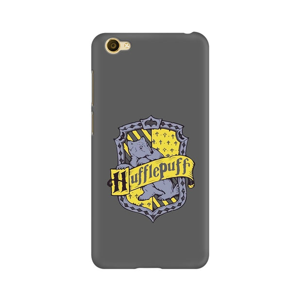 Vivo Y55L Hufflepuff House Crest Harry Potter Phone Cover & Case