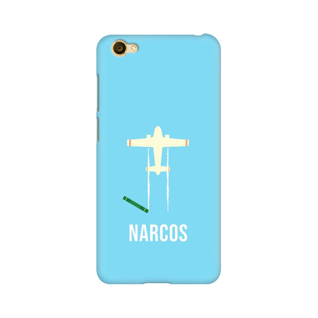 Vivo Y66 Narcos TV Series  Minimal Fan Art Phone Cover & Case