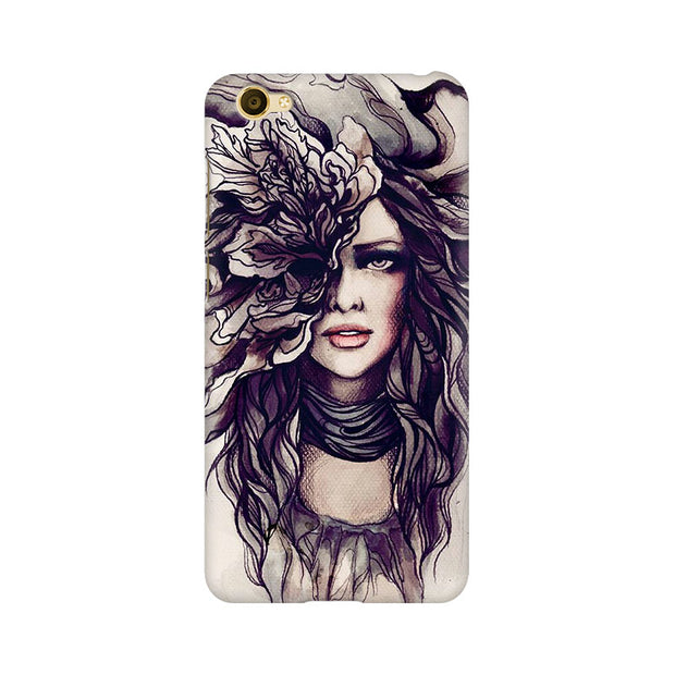 Vivo Y67 Crazy Hairy Girl Phone Cover & Case