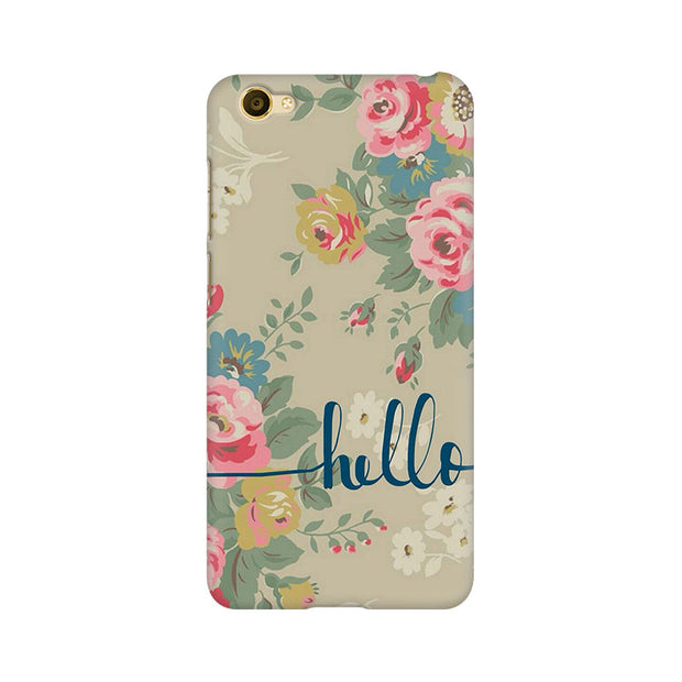Vivo Y67 Flowery Hello Phone Cover & Case